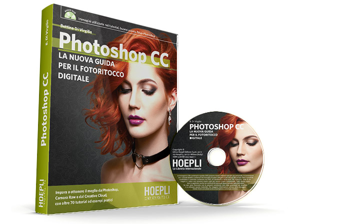 Photoshop CC - La nuova guida per il  fotoritocco digitale - Aut. Bettina Di Virgilio - Hoepli - Photoshop - Adobe - Manuale - handbook